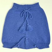 Royal blue culottes
